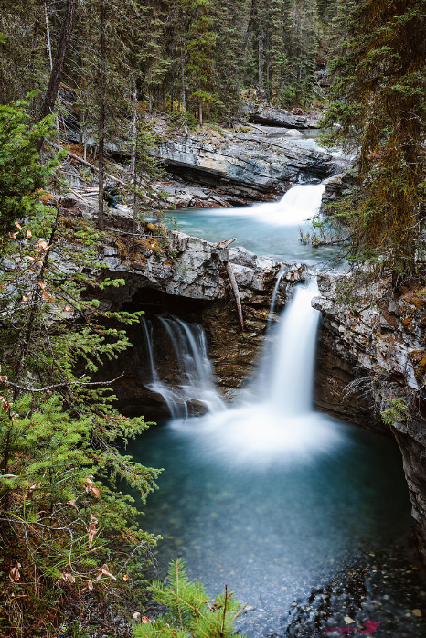 Waterfall is Banff National Park, Canada