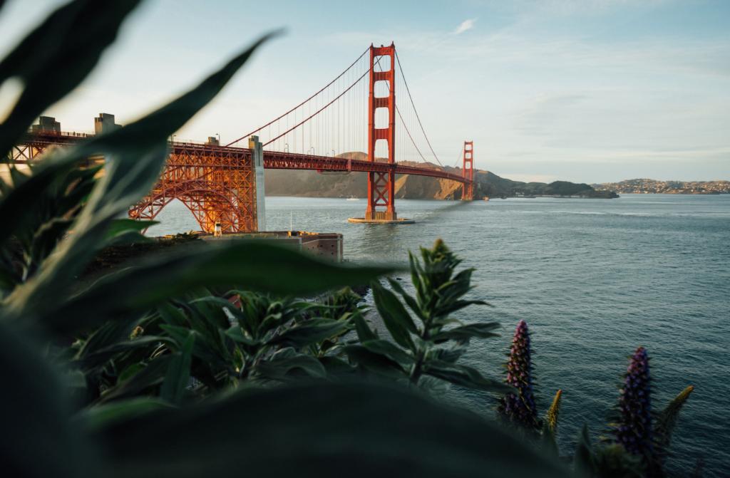 Golden Gate Briedge in San Francisco California