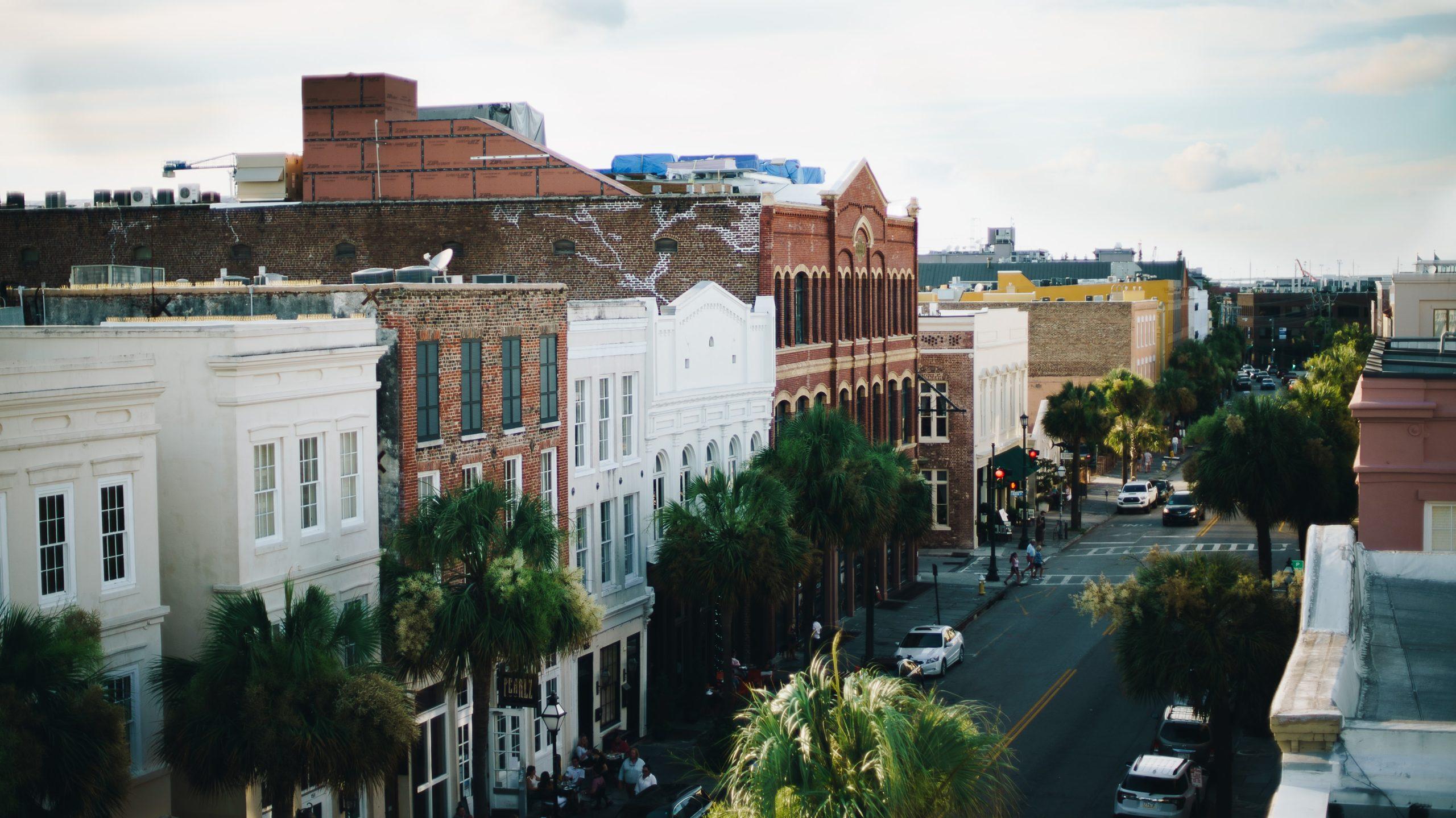 Charleston SC city streets