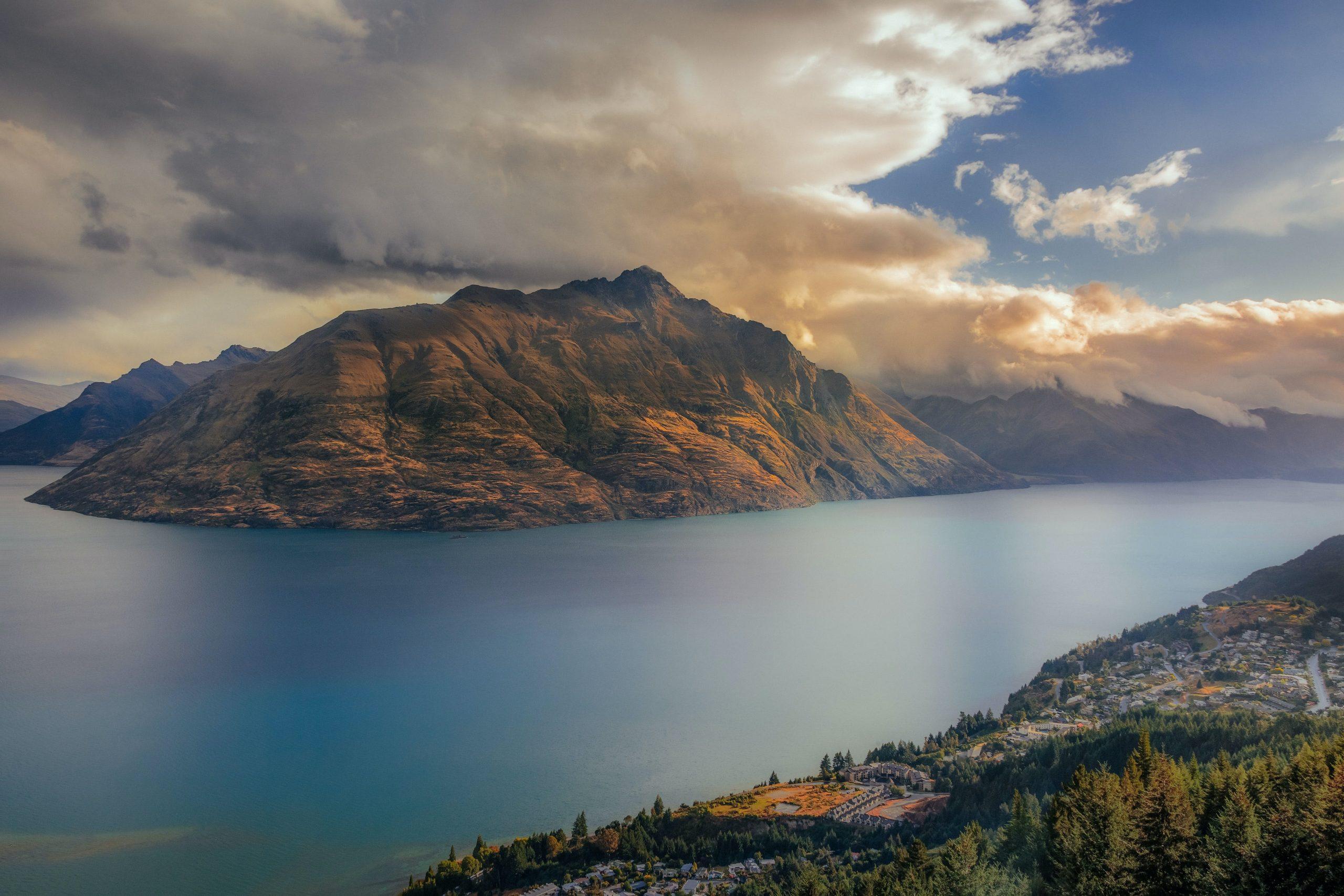 mountain in Queenstown, New Zealand