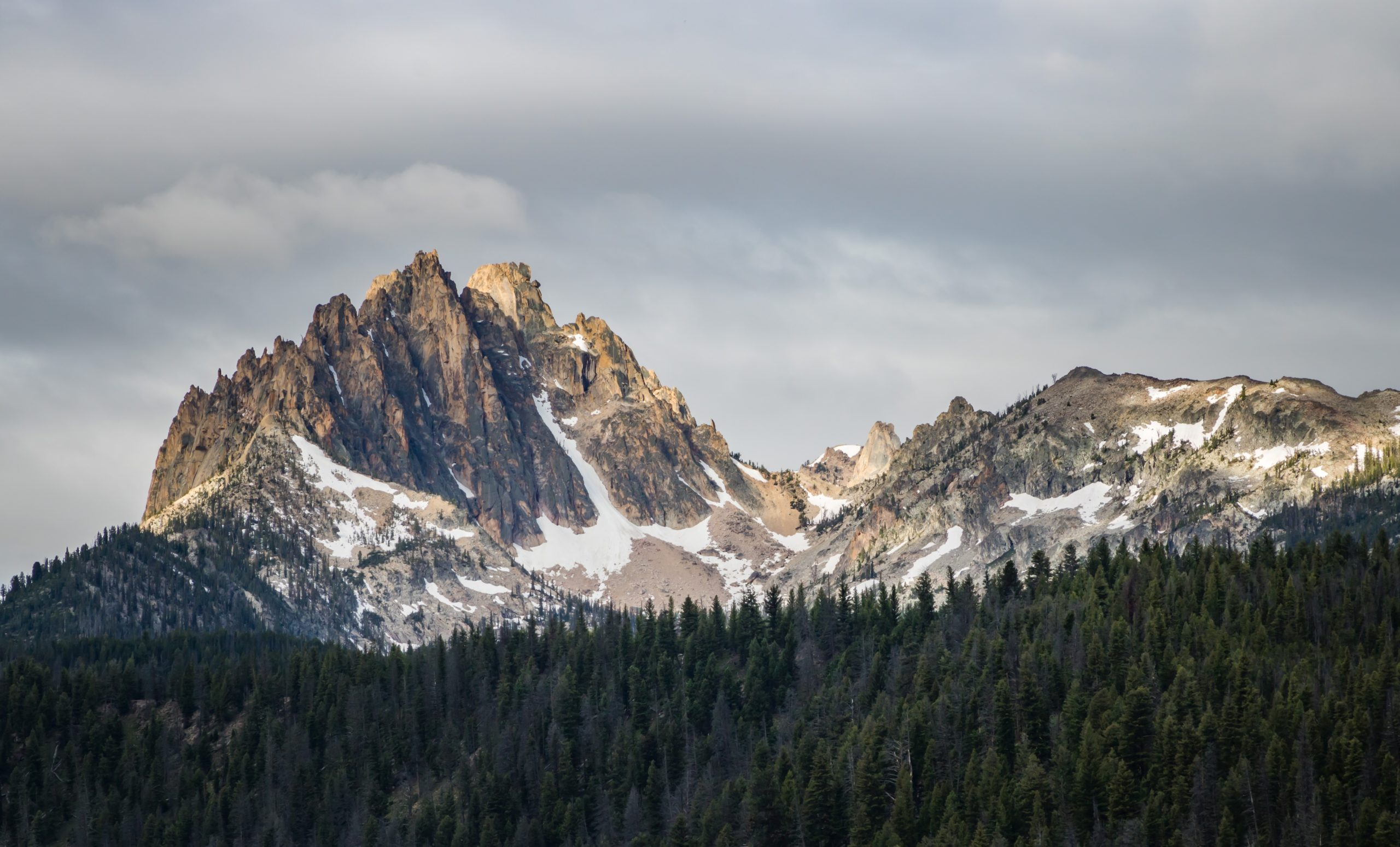 mountains in Stanley, Idaho