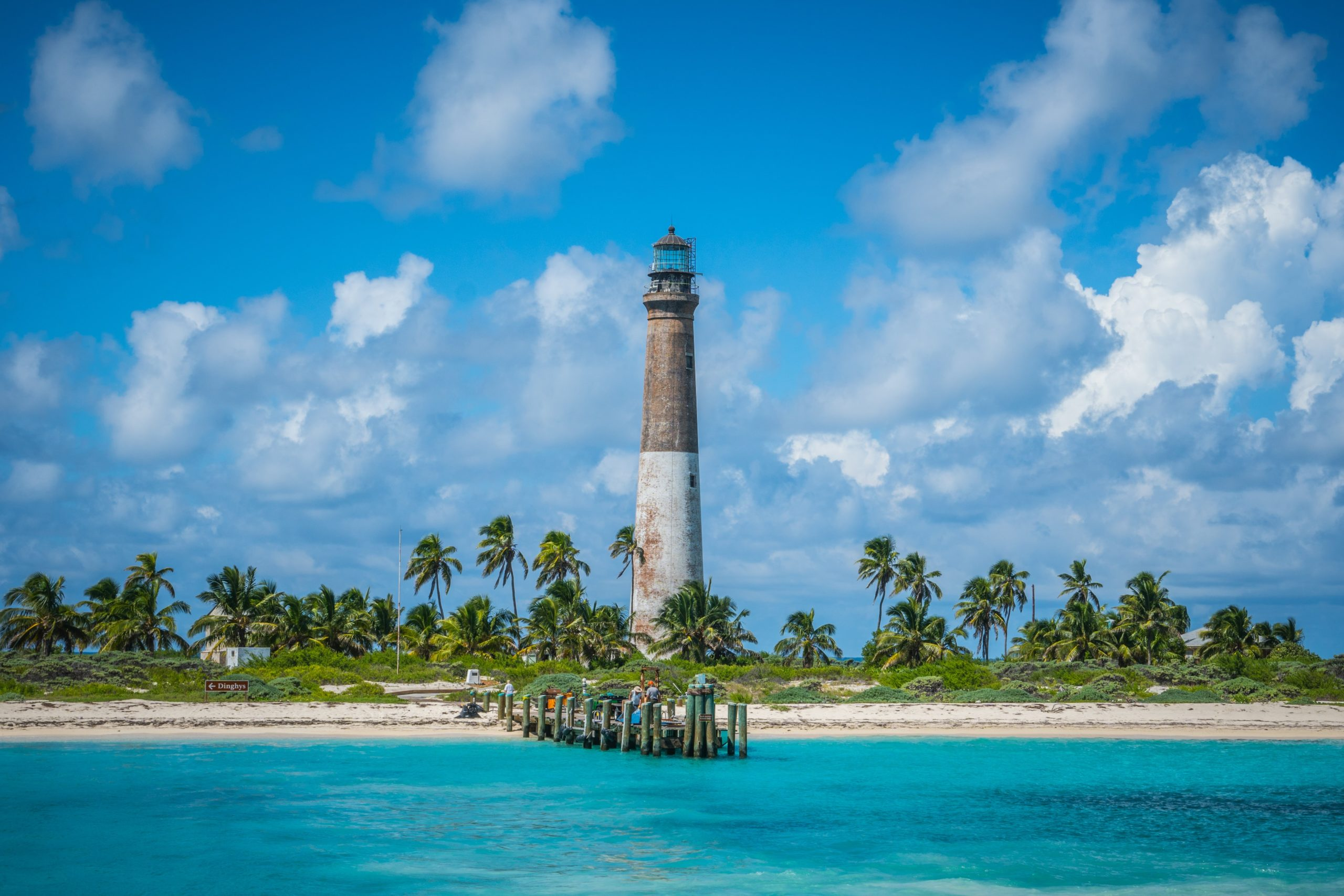 Dry Tortugas beach with turquoise water is a real hidden gem in Florida.