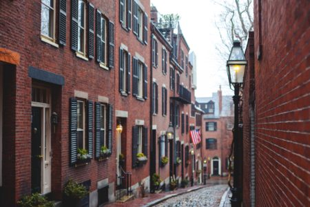 Historic Boston street to visit during a weekend in Boston.