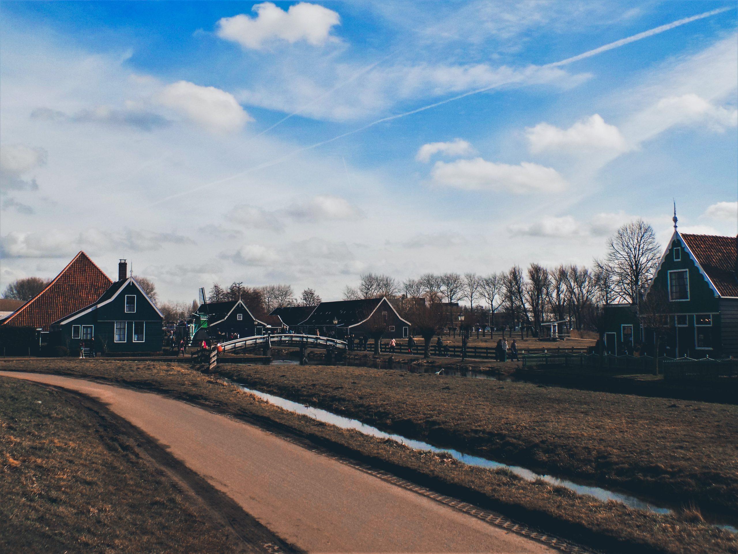 Zaanse Schans in the netherlands