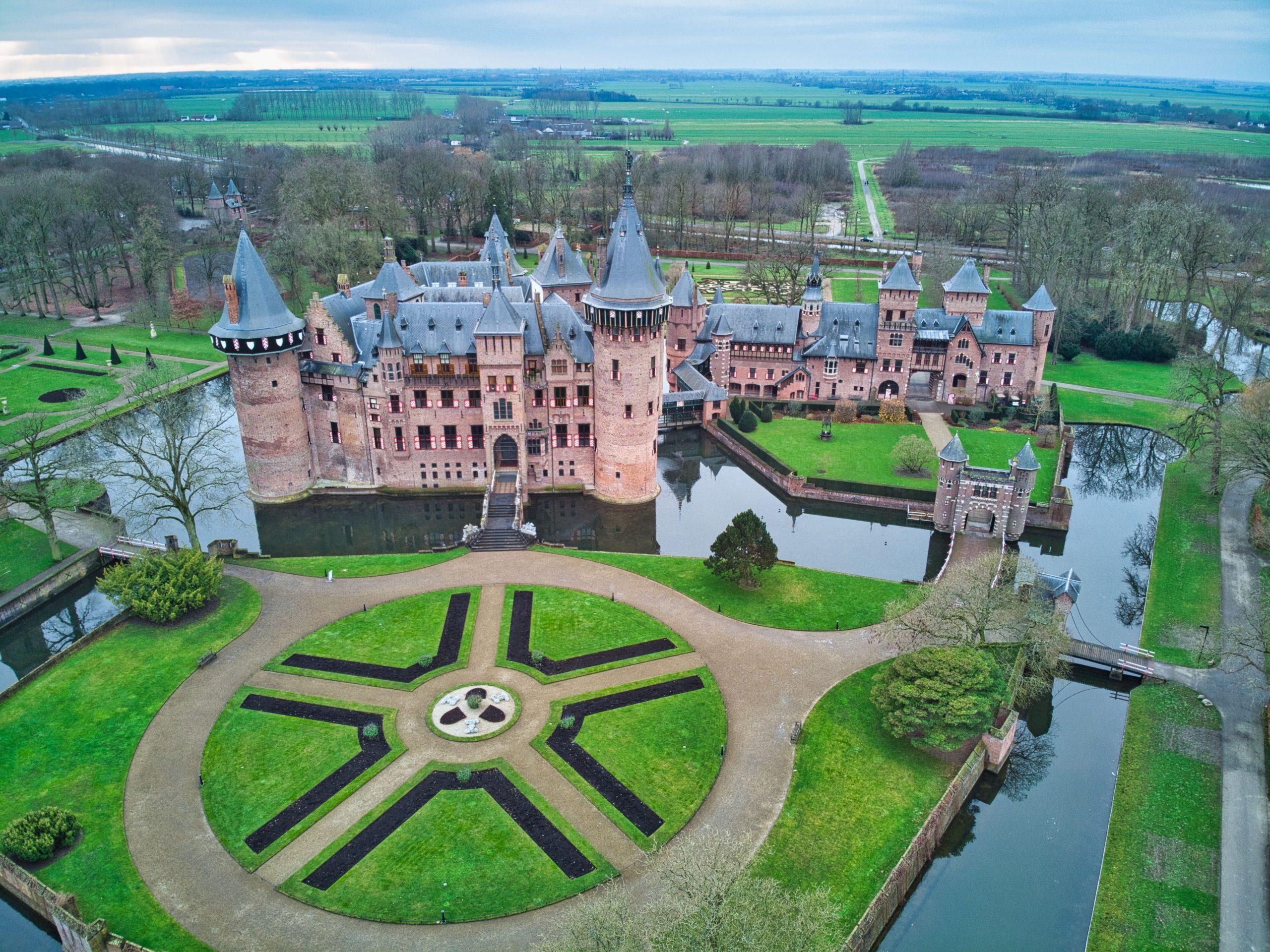 castle called Kasteel De Haar in the netherlands