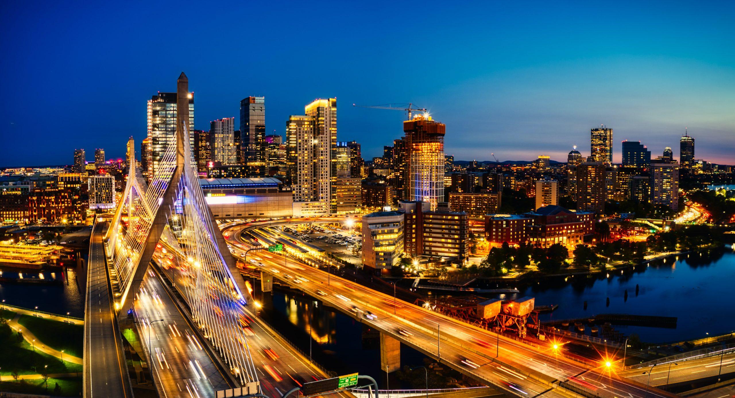 bridge in Boston Massachusetts, united states