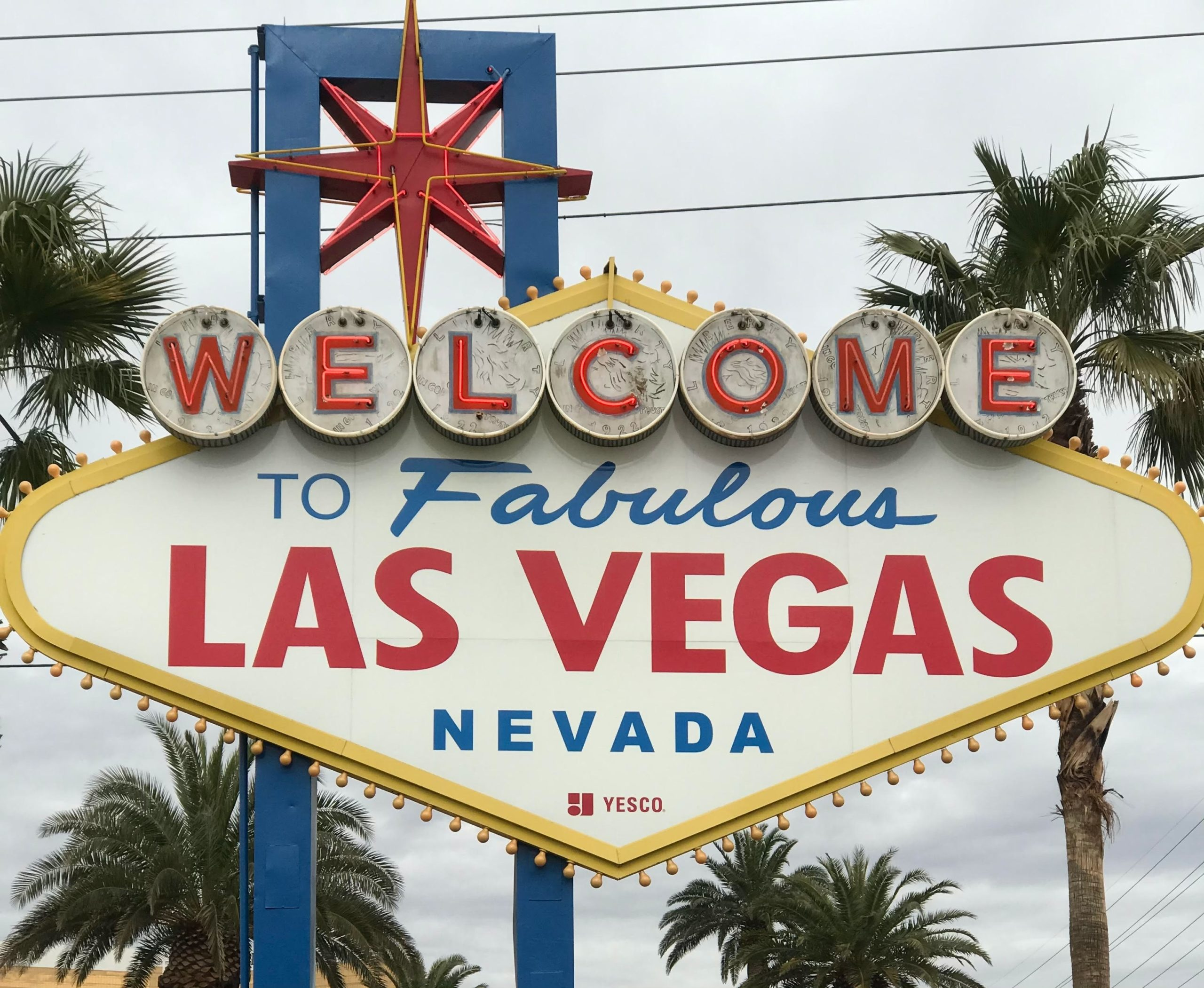 las vegas nevada united states welcome sign
