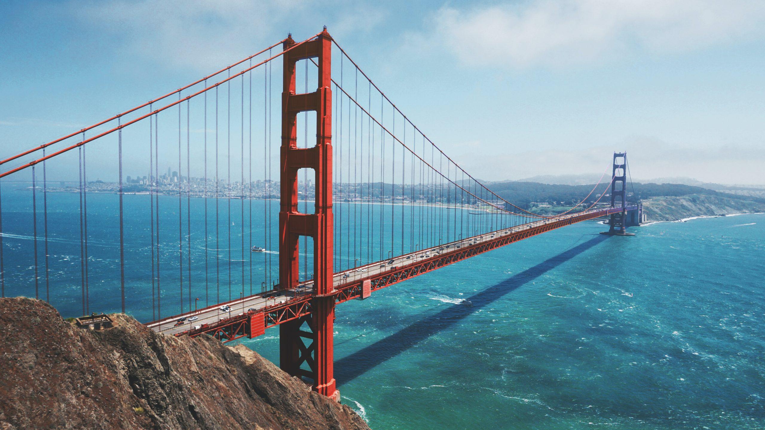 golden gate bridge in san francisco united states