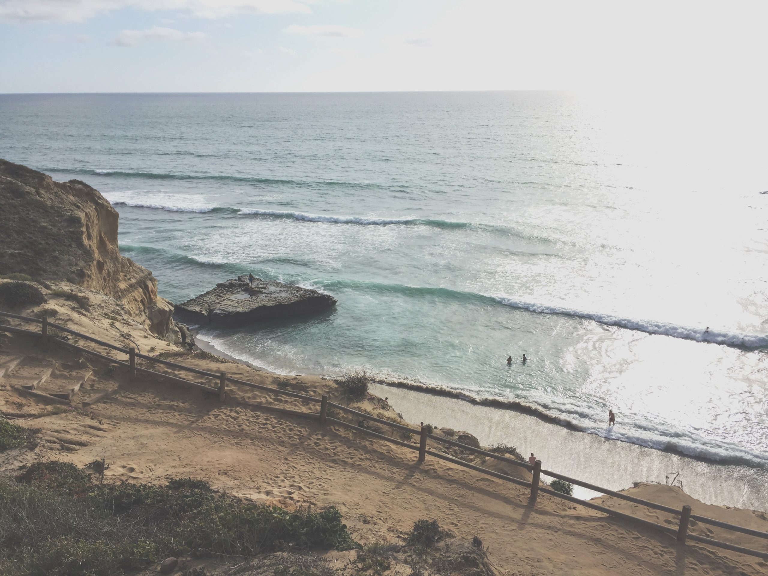 coastline in san diego california, US